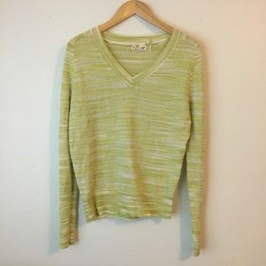 Anthropologie Moth Marlee V-Neck Pullover Sweater